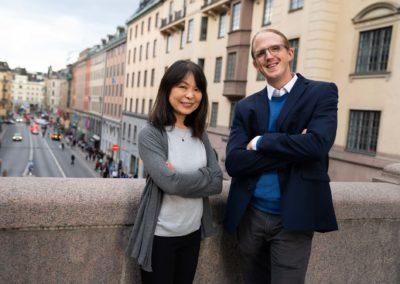 Carl-Magnus Falk och Masano Eckerblad Falköga Redovisningpg